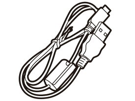 【在庫あり】 パナソニック デジタルビデオカメラ用USB接続ケーブル K1HY04YY0106
