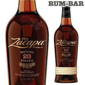 ロン サカパ センテナリオ23年 正規品 40度 750ml 6〜23年熟成 ラム RUM ラム酒 スピリッツ 虎S