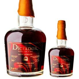 ディクタドール ラ ヴィダ ドゥルセ 京都 Rum & Whisky 10周年記念ボトル 700ml 46度Dictador La Vida Dulce コロンビア ラム 長S