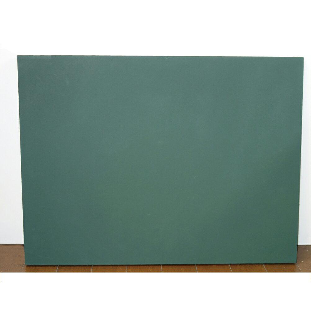 工事用 木製黒板 緑無地 450×600 横【あす楽】