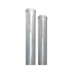 カーブミラー用 ポール 溶融亜鉛メッキ(ドブメッキ) 埋込式支柱 直柱 φ76.3 4m 3PLD7640S ナック・ケイ・エス
