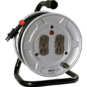 電工ドラム 標準型100Vドラム 2芯 10m NS104[NS10410M] 日動工業