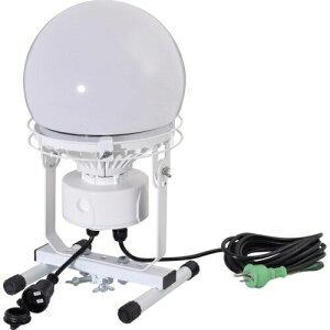 連結LED投光器 ディスクボール100W 床スタンド式 昼白色 日動工業