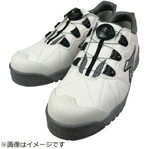 ドンケル DONKEL ディアドラ DIADORA安全作業靴 フィンチ 白/銀/白 28.0cm FC-181