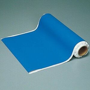 マグネカラーシート(1mあたり)ブルー 幅500mm ×0.8 マグネAB 312310 日本緑十字
