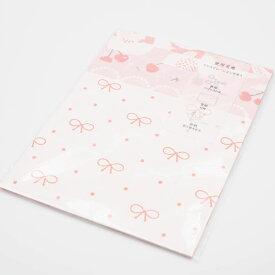 可愛いデザインペーパーピンクセット mycity 紙もの おしゃれ かわいい スクラップブッキング ペーパークラフト 紙 グリーティングカード お花 植物 リボン