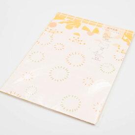 可愛いデザインペーパーきいろセット mycity 紙もの おしゃれ かわいい スクラップブッキング ペーパークラフト 紙 グリーティングカード お花 植物
