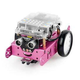 Makeblock mBot ピンク(プログラミング・教育ロボットキット・知育ロボット・STEM教育・初心者向け)V1.1-Blue(Bluetooth Version) 教材 プログラミング おもちゃ 小学生