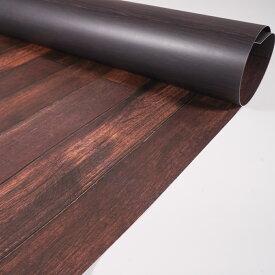 写真背景紙 875mm×56mm 両面 バックペーパー ペーパーシート 濃い木目2種
