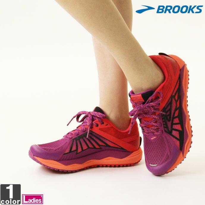ブルックス【BROOKS】レディース トレイルランニングシューズ カルデラ 1202321B 1809 靴 ひも靴 長距離 ウルトラマラソン マラソン ランナー トレーニング ランニング シューズ スニーカ−