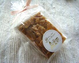飛騨高山産蜂蜜を使ったフロランタン1個【小袋入り・リボン付き】