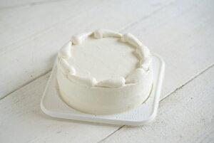 アレルギー対応・豆乳クリームのクリスマスケーキ15cm・誕生日ケーキ15cm【冷凍便】