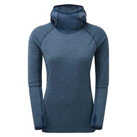 【ウィメンズ】MONTAIN モンテイン プリミノハイブリットフーディ ハイキング トレッキング ランニングシャツ トレイルランニング
