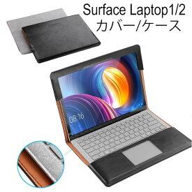 Surface Laptop 3 Surface Laptop 13.5 インチ ケース/カバー 手帳型 レザー おしゃれ サーフェス ラップトップ2用 手帳型タイプ レザーケース/カバー おすすめ おしゃれ ノートPC用ケース/カバー
