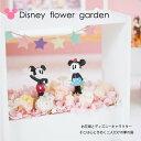 プリザーブドフラワー 『disney flower garden ディズニーフラワーガーデン』【ディズニー ミッキー ドナルド 誕生日 …