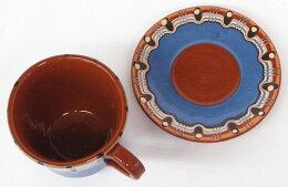 ブルガリア雑貨・陶器・トロヤン陶器・マグカップ