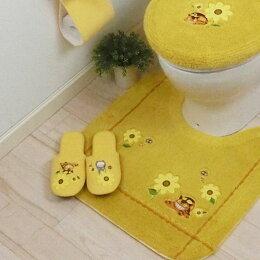 となりのトトロ花のバス停スリッパ トイレタリー洗えるスリッパ室内履き