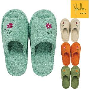 シビラ フラワーガーデン スリッパ | Sybilla トイレタリー 洗えるスリッパ 室内履き