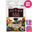 【送料無料】美的生酵素555 ×超お得12袋 《60カプセル、ダイジェザイム サプリメント 、特選素材555種、酵素女神5…