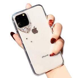 iPhone12ProMAX iPhoneSE 第二世代 iPhone11 ケース クリア かわいい iPhone11 Pro ケース 可愛い キラキラ iPhone11ProMAX iPhoneXR iPhoneXS 透明ケース iPhoneXSmax ラインストーン クリアケース iPhonex iPhone8 iPhone7 Plus iPhoneケース おしゃれ スマホケース ZSFU