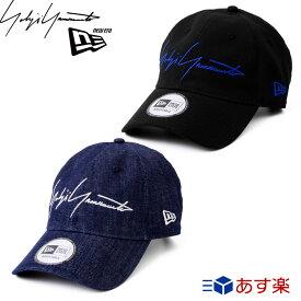 ヨウジヤマモト ニューエラ キャップ 帽子 ロゴ SS19 【Yohji yamamoto NEW ERA メンズ レディース ブランド おしゃれ かわいい 正規品 新品 2019年 ギフト プレゼント】 [S] 夏