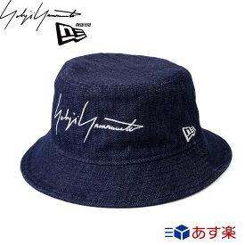 ヨウジヤマモト ニューエラ キャップ 帽子 ロゴ バケットハット ハット SS19 【Yohji yamamoto NEW ERA メンズ レディース ブランド おしゃれ かわいい 正規品 新品 2019年 ギフト プレゼント】 [S] 夏