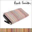 ポールスミス/長財布 長財布 【メンズ レディース/Paul Smith ラウンドファスナー ポール・スミス 長サイフ 小銭入れ…