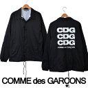 コムデギャルソン ナイロンジャケット コーチジャケット CDG LOGO COACH JACKET ロゴ 2017年新作【COMME des GARCONS …