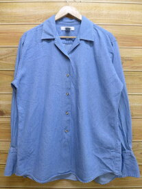 古着 長袖 シャツ ブルックスブラザーズ BROOKS BROTHERS デニム lsh Lサイズ 中古 メンズ トップス