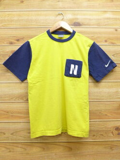 Spring clothes summer clothing summer clothes Nike NIKE yellow yellow | in the spring and summer an old clothes T-shirt for spring I show cute casual lady's fashion fashion