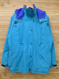 Autumn clothes winter clothing winter clothes windbreaker | in the fall and winter old clothes Lady's mountain parka nylon jacket are E eye REI Gore-Tex bluish green outer for autumn I show cute casual lady's fashion fashion
