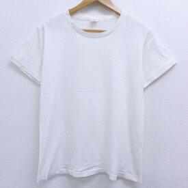 【中古】古着 半袖 ビンテージ ヴィンテージTシャツ 60年代 60s BVD コットン クルーネック 丸首 白 ホワイト Mサイズ 中古 メンズ | 春夏 夏物 夏服 ヴィンテージTシャツ メンズファッション カットソー ティーシャツ ティシャツ メンズTシャツ 半袖Tシャツ 半袖ティ