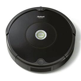 iRobot アイロボット ルンバ 606 ロボット掃除機 高速応答プロセスiAdapt搭載 ゴミ検知センサー 自動充電 ブラック R606060