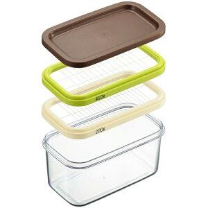 ヨシカワ 日本製 バターカッター 保存ができる クリア 業務用サイズ(200g/450g用)対応 ホームベーカリー倶楽部 SJ2088