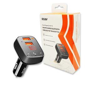 Anker Roav FM Transmitter F2(アンカーFMトランスミッター搭載 19.5W 2ポート カーチャージャー)【Bluetooth 4.2 / カーファインダー / ハンズフリー通話対応 / PowerIQ搭載】