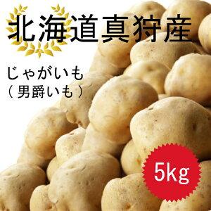 今年の10月収穫分予約受付ます!! 北海道 真狩産 じゃがいも 男爵いも 5kg 送料無料