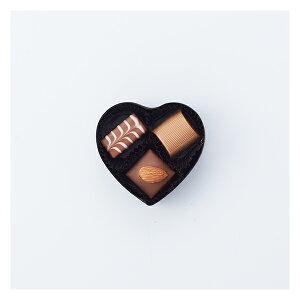 【1月28日以降順次発送】[ロイスダール][楽ギフ_包装選択][チョコレート][バレンタイン][義理チョコ]ハートショコラ ファンシー(黒)10個おまとめ買いセット・ポイント10倍