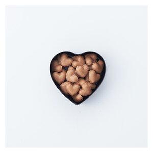 [ロイスダール][楽ギフ_包装選択][チョコレート][バレンタイン][義理チョコ]ハートショコラ キスチョコ(黒)