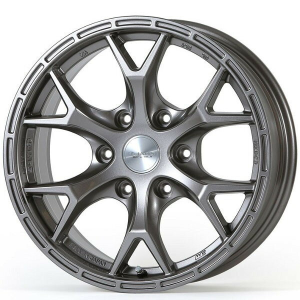 JAOSTRIBE CLAW 17×7.5J+25 6H139.7 ガンメタリック