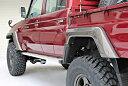 MOTORAGEランドクルーザー70系(再販車)型式/GRJ79Kオーバーフェンダー(Lサイズ)フロント90mm・リア70mm
