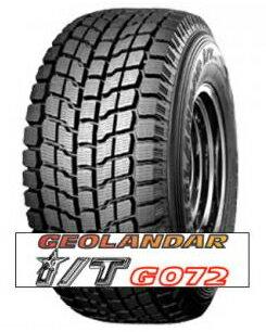 YOKOHAMAスタッドレスタイヤGEOLANDAR IT-S(GO72) LT 31x10.50R15 (4本セット)