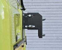 スペアタイヤ移動ブラケット(JB64/JB74)取付例