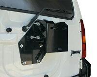 スペアタイヤ移動ブラケット(JB23)装着例14