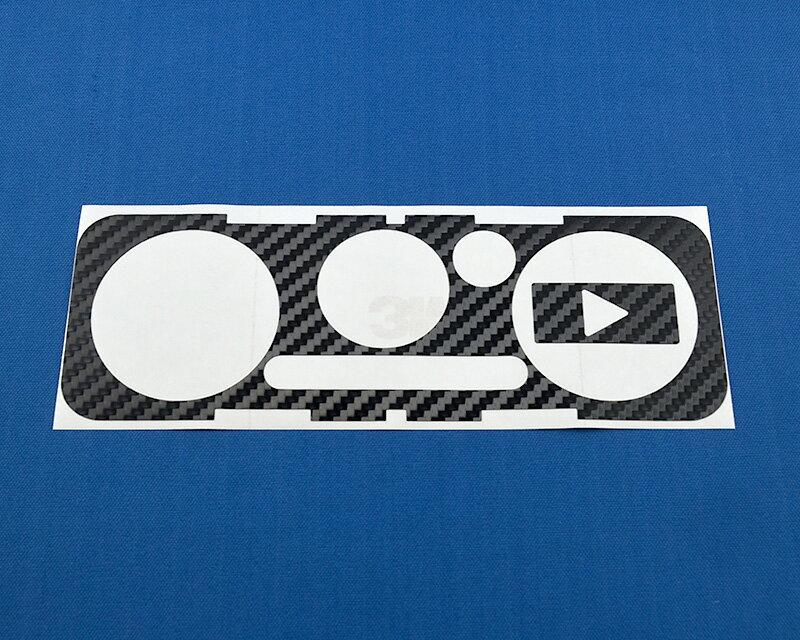 タニグチ製 カーボンシート for A/C [エアコンスイッチ] (スズキ・ジムニーJB23/43)