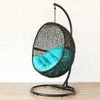 ハンギングチェアハンモックチェアソファー椅子イススタンドパーソナルチェア撥水屋外アジアンリゾートバリ島ワイドC500PGYR