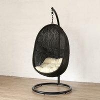 ハンギングチェアハンモックチェアソファー椅子イススタンドパーソナルチェア撥水屋外アジアンリゾートバリ島コンパクトC502PGYW