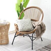 パーソナルチェア籐製ラタンチェア椅子イスアイアン鉄アンティークナチュラル和モダンアジアン敬老の日父の日母の日祖父祖母プレゼントおすすめ創業100年籐家具専門メーカーC590GY