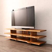 TVボードローボードテレビ台ラック150cm木製チーク無垢材収納リビングCDDVD整理北欧ナチュラルインテリアデザインおしゃれBREEZEW105WX
