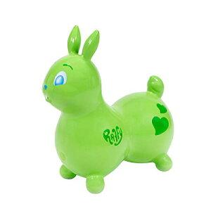 ラッフィ ラフィ ( Raffy ) ウサギ 乗用玩具 ロディのお友達 バランスボール ノンフタル酸 Green ライムグリーン Hop & Ride On