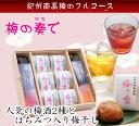 梅の奏で(かなで) ★紀州の梅のフルコース!梅酒2種とはちみつ入り超大粒梅干しの詰め合わせ